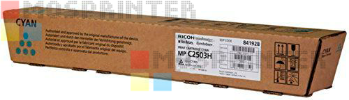 Ricoh Aficio MP C2503H (841928) - Cyan