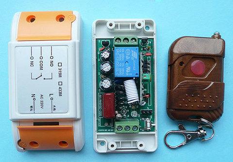 Выключатель дистанционный на радиочастоте RC-1-220-RK-01S-KP1