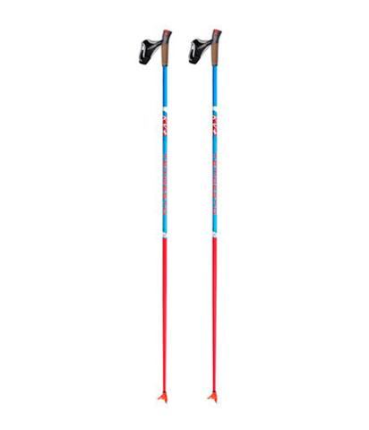 Спортивные лыжные палки KV+ Tempesta Blue Clip/QCD (20P007Q)