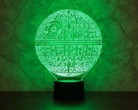 Лампа Звезда смерти