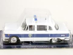 Checker Marathon Police Exeter USA 1:43 DeAgostini World's Police Car #35