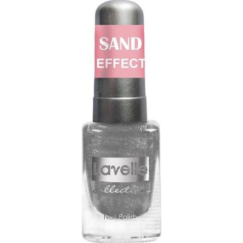 Лавелль лак Sand Effect  6мл тон 659 серебряный