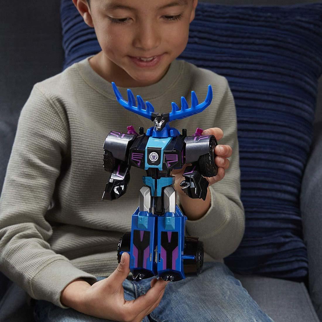 СандерХув трансформация в 3 шага. Роботы под Прикрытием ...