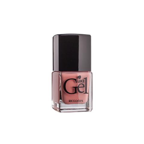 Relouis Like Gel Лак для ногтей с гелевым эффектом тон №14 (клубничное мороженое)