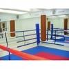 Ринг боксерский, напольный на растяжках 5х5м.