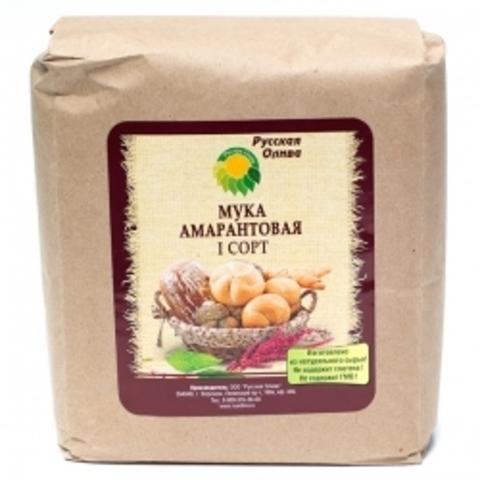 Русская олива мука амарантовая 1 сорт 1000 г