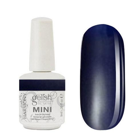 Gelish mini 414 - After Dark. 9 ml Очень темный синий матовый