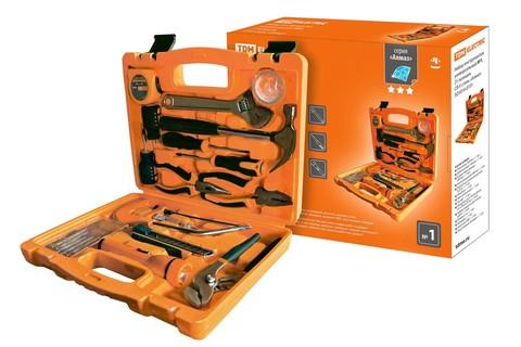 Набор инструментов универсальный №1, 21 позиция, CR-V сталь