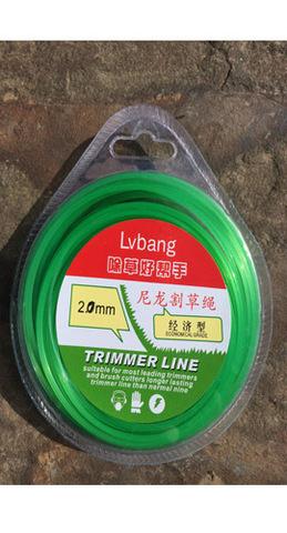 Леска для триммера 2мм