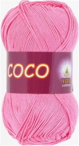Пряжа Coco (Vita cotton) 3854 Светло-розовый