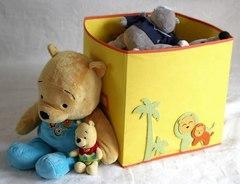 коробка для игрушек все на местах