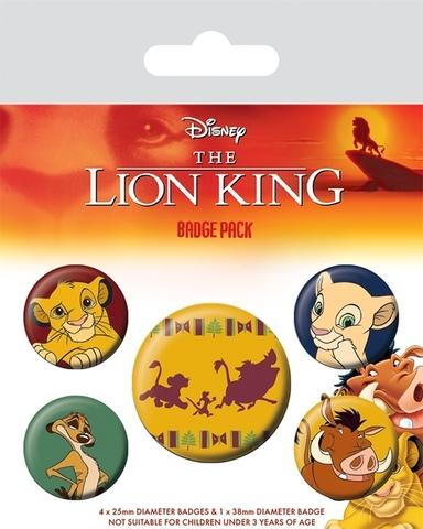 Набор значков Lion King