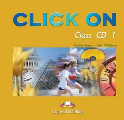 Click On 3. Class Audio CDs. (set of 5). Pre-Intermediate. Аудио CD для работы в классе
