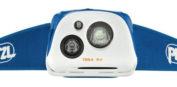 светодиодный фонарь Petzl TIKKA R+ синий распродажа