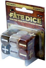 Набор кубиков для Fate System Fate Dice: Antiquity Dice