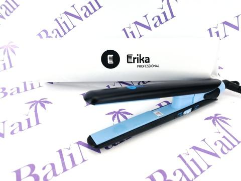 Erika Щипцы-выпрямители, мини, цвет синий, керамико-турмалин. покрытие, чехол, шир. 17 мм, t 210°С, 25 Вт