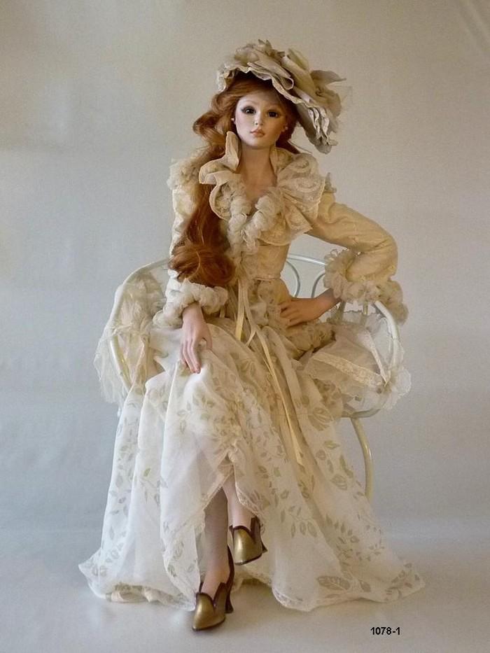 Кукла фарфоровая коллекционная Marigio Луизианна