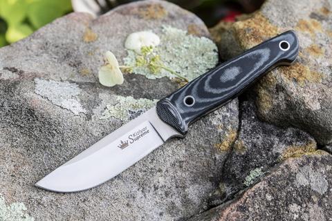 Туристический нож Nikki AUS-8 StoneWash Kydex