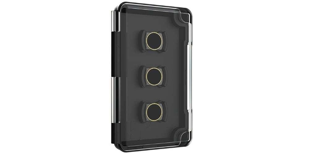 Набор фильтров PolarPro VIVID для DJI Osmo Pocket сбоку в коробке