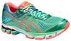 Женские кроссовки для бега Asics GT-1000 4 (T5A7N 8706) салатовые
