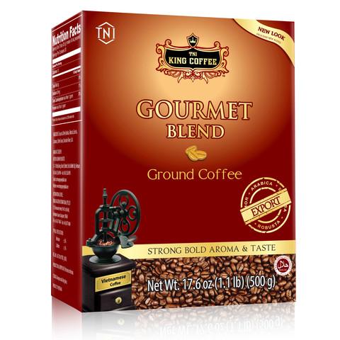 Вьетнамский молотый кофе Gourmet Blend King Coffee, 250 гр.