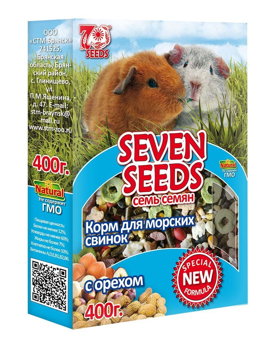 Грызуны и хорьки Корм для морских свинок с орехом Seven Seeds Special 1.jpg