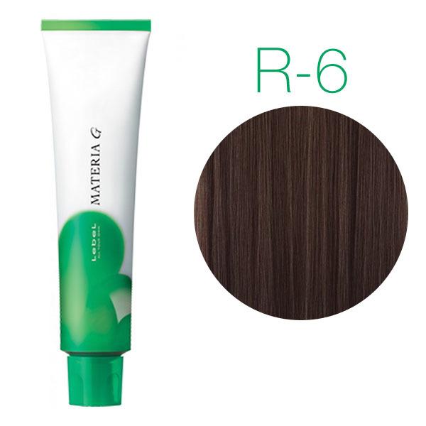 Lebel Materia Grey R-6 (тёмный блондин красный) - Перманентная краска для седых волос