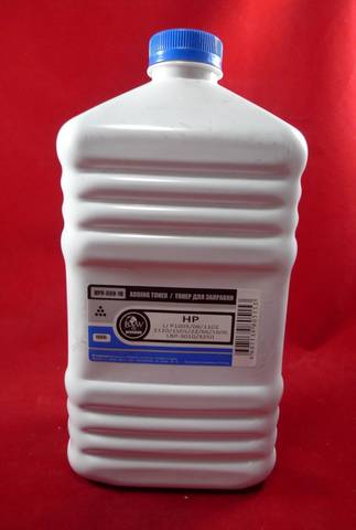 Тонер для картриджей CB435A, CB436A, CE285A, CE278A, CF279A, CF283A, CF283X, CRG-712, C 713, C 725, C 726, C 737, C 728. B&W Premium фас. Россия. 1 кг