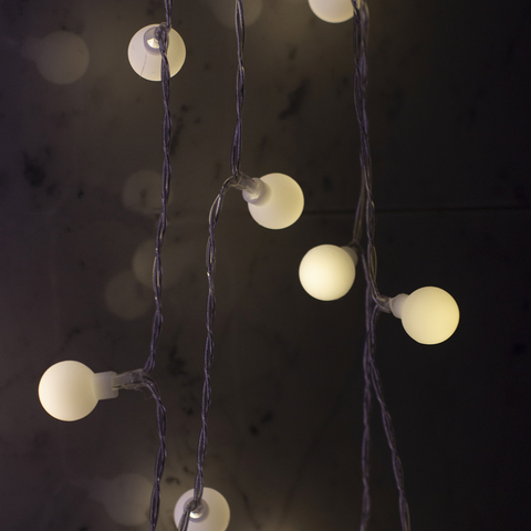 Гирлянда светящаяся 5 м, 50 ламп