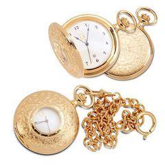 Карманные позолоченные часы
