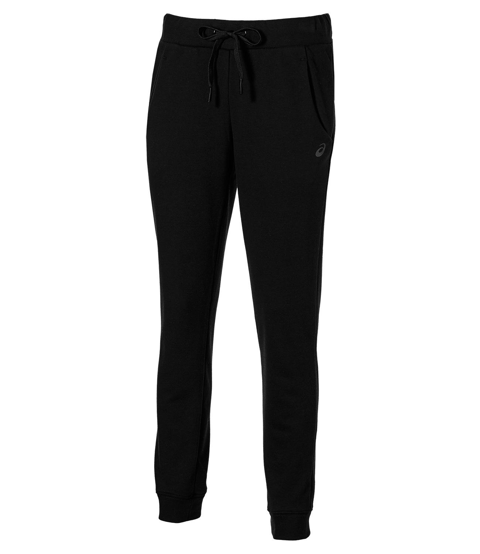 Женские спортивные штаны Asics Knit Pant (130517 0904) черные фото