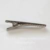 Основа для заколки крокодильчик, 35х7 мм (цвет - платина)