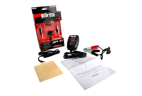 Зарядное устройство для мото АКБ BA10 6V/12V, 1,0 А