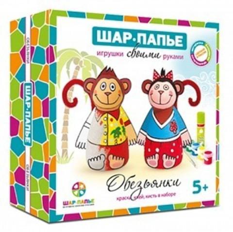 Набор для создания игрушек - Обезьянки