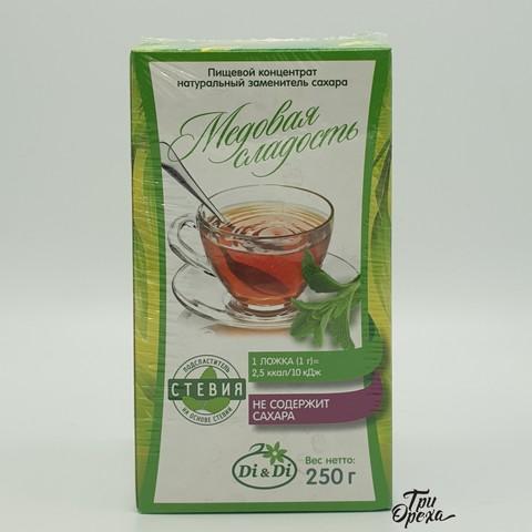 Натуральный заменитель сахара Медовая Сладость (Стевия) Di&Di , 250 гр