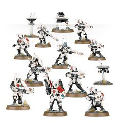 Start Collecting! Tau Empire. Воины Тау