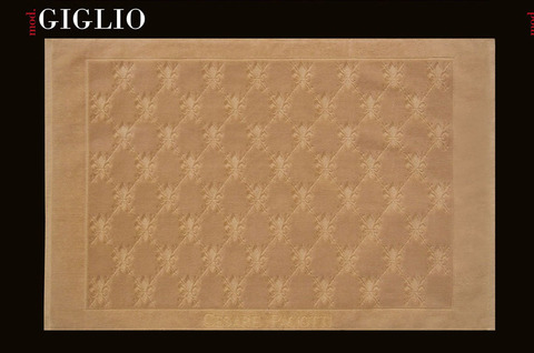 Коврик для ванной 70х120 Cesare Paciotti Giglio-Poker коричневый