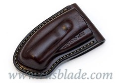 CUSTOM Handmade ZT 0801 Zero Tolerance 0801 Leather Sheath Brown