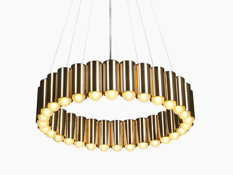 replica Lee Broom Carousel Pendant Light ( gold )