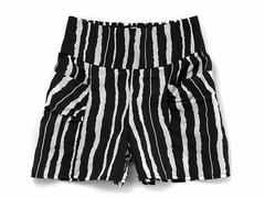 74056 шорты детские черно-белые