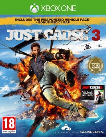 Xbox One Just Cause 3. Special Edition (русская версия)