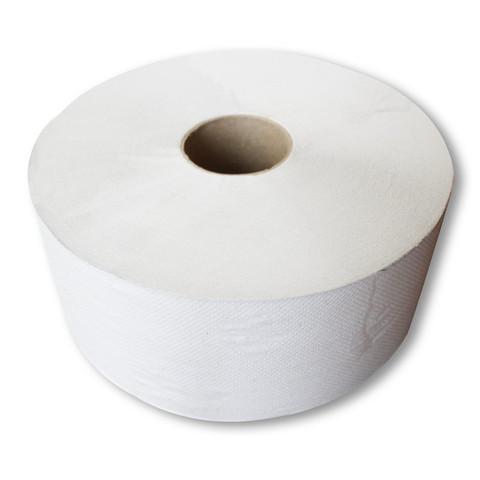 Бумага туалетная д/дисп 1сл бел макул втул 420м 6рул/уп 420W1