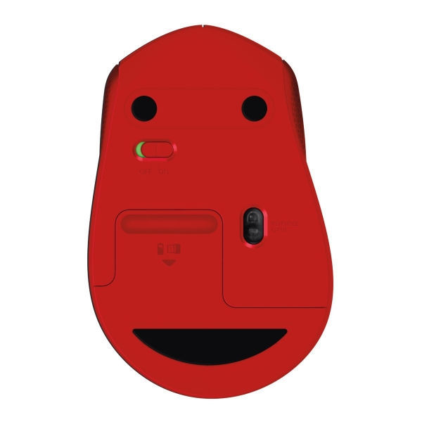 Logitech M330 Silent Plus Red