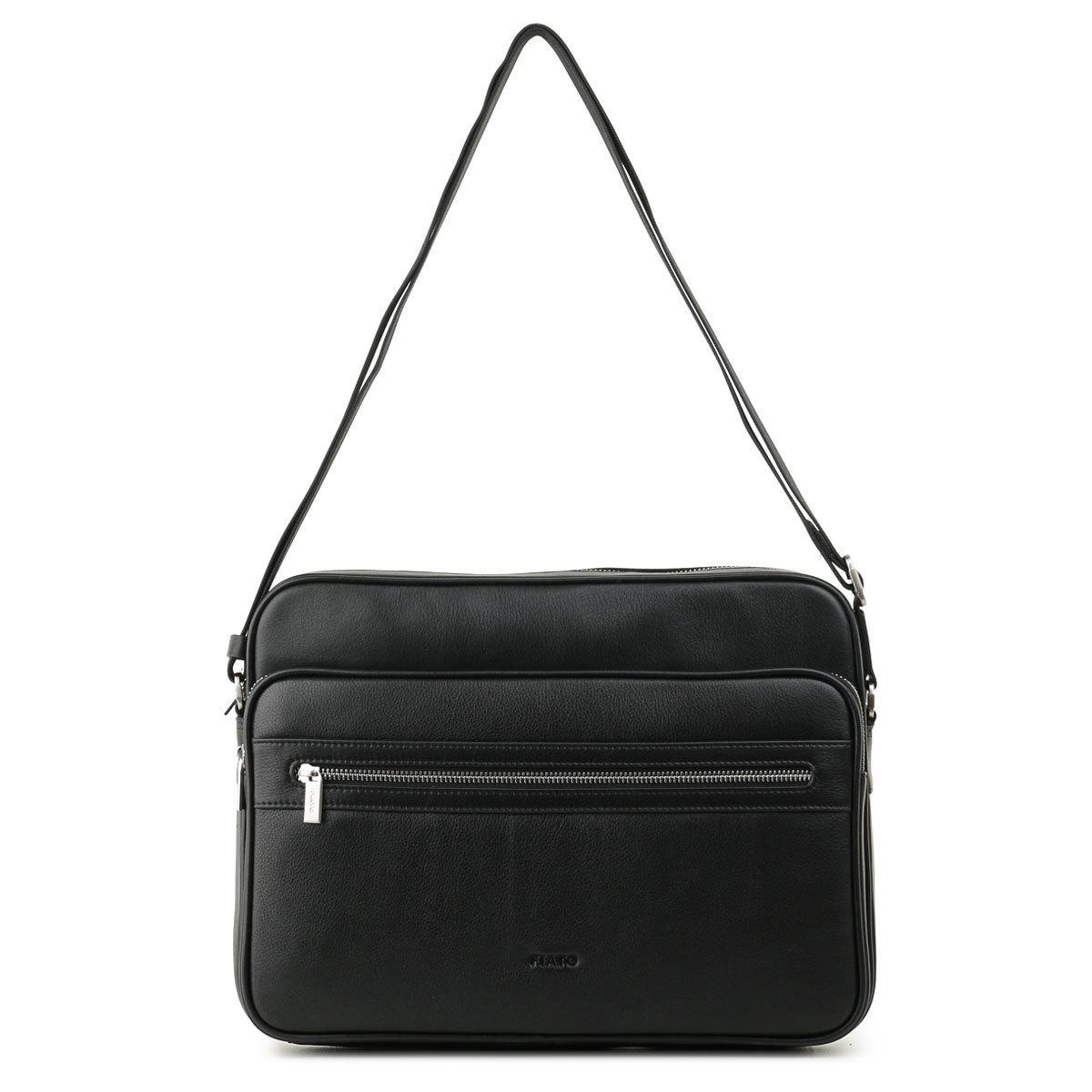 м13646 Fiato  кожа черный  (сумка мужская)
