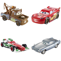 Cars 2 - 1:34 Pullback Vehicle