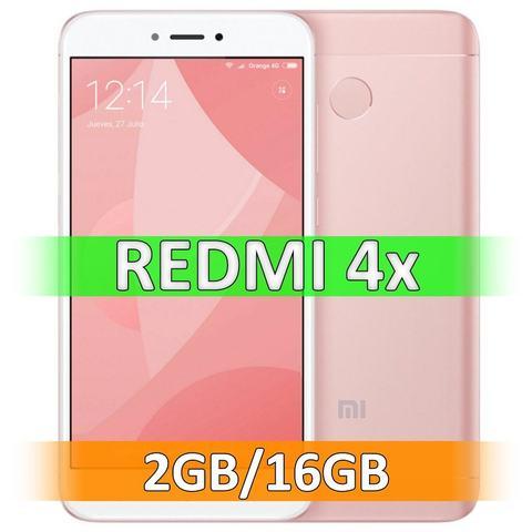 Смартфон Xiaomi Redmi 4X (2-16Gb) Pink
