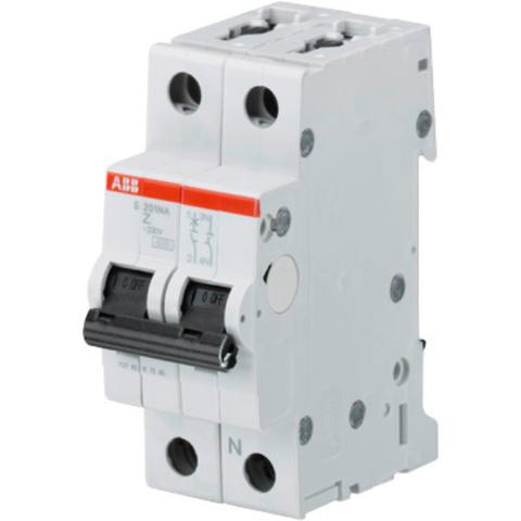 Автоматический выключатель 1-полюсный с нулём 63 А, тип Z, 10 кА S201M Z63NA. ABB. 2CDS271103R0608