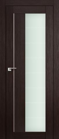 > Экошпон Profil Doors №47X-Модерн, стекло матовое, цвет венге мелинга, остекленная