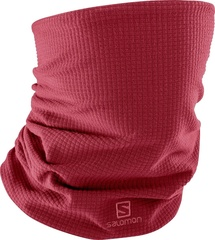 Шарф лыжный Salomon Rs Warm Tube Rio Red/Rhu
