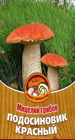 Мицелий Грибы Подосиновик красный 60 мл Грибное удовольствие